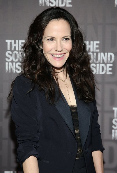 "Mary-Louise Parker at ""The Sound Inside"" opening night on October 17, 2019 
