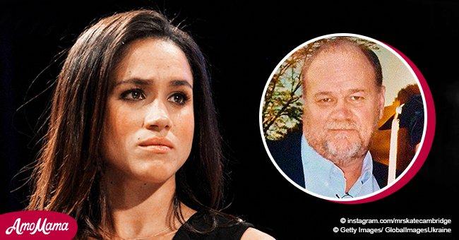 Reportan que Meghan Markle suplica a su papá cesar los ataques contra ella