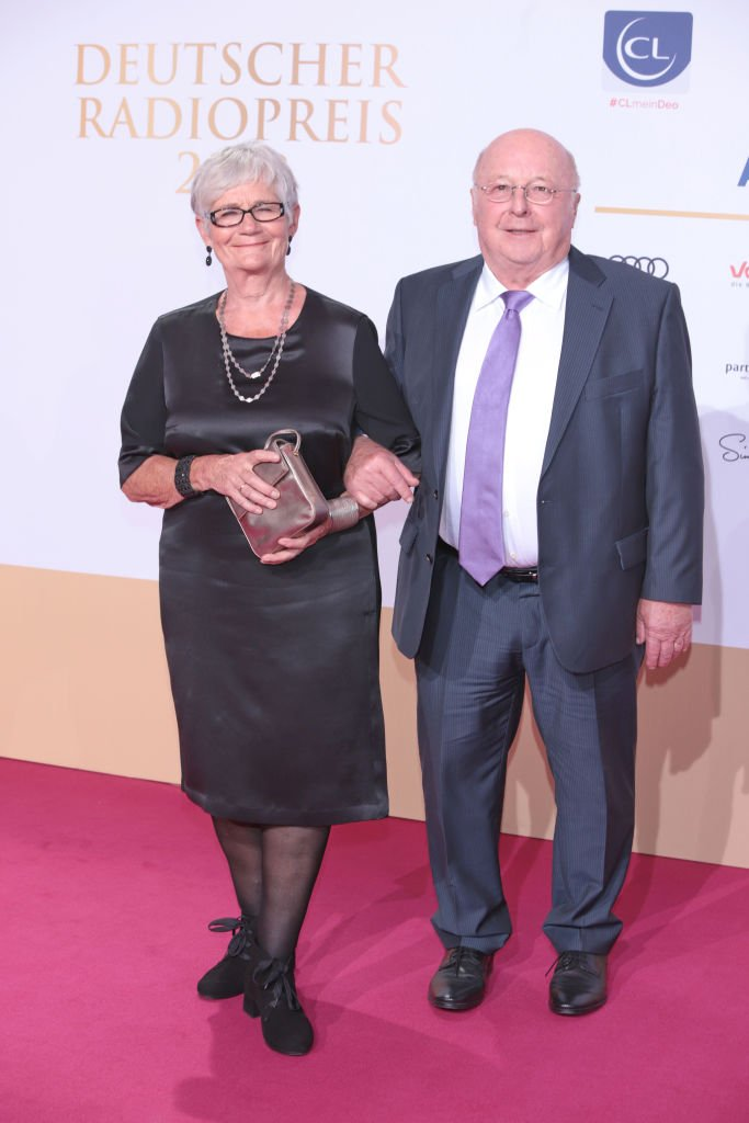 Norbert und Marita Blüm, Deutscher Radiopreis 2018 | Quelle: Getty Images