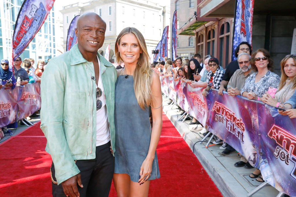 Seal et Heidi Klum lors de l'American Got's Talent. | Photo : Getty Images
