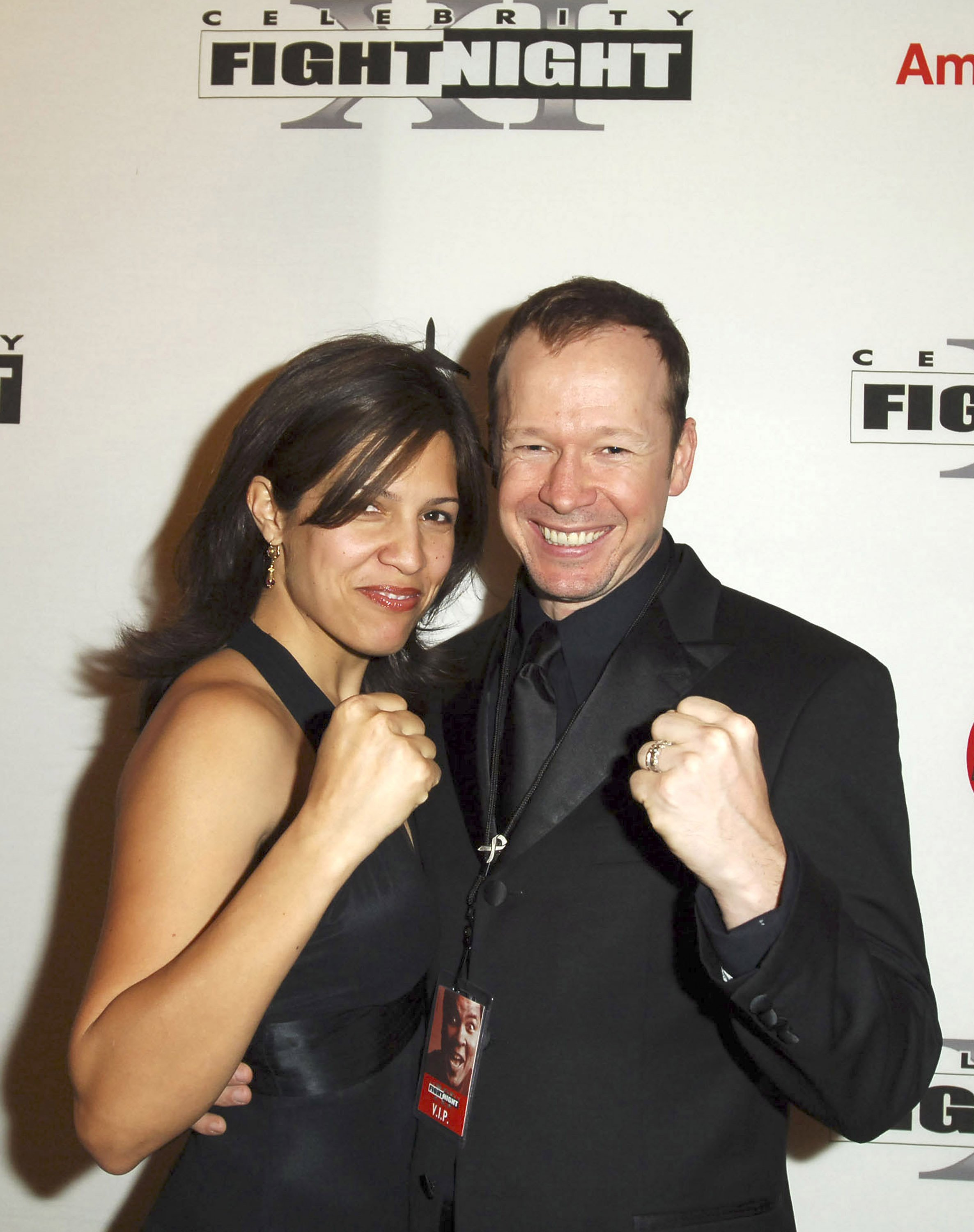 Kim Fey and Donnie Wahlberg | Photo: Getty Images