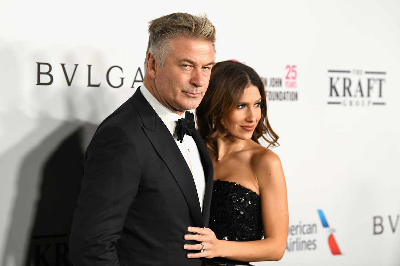 Alec Baldwin and Hilaria Baldwin attend the Elton John AIDS Foundation's Annual Fall Gala with Cocktails By Clase Azul Tequila at Cathedral of St. John the Divine on November 7, 2017 in New York City. | Source: Getty Images