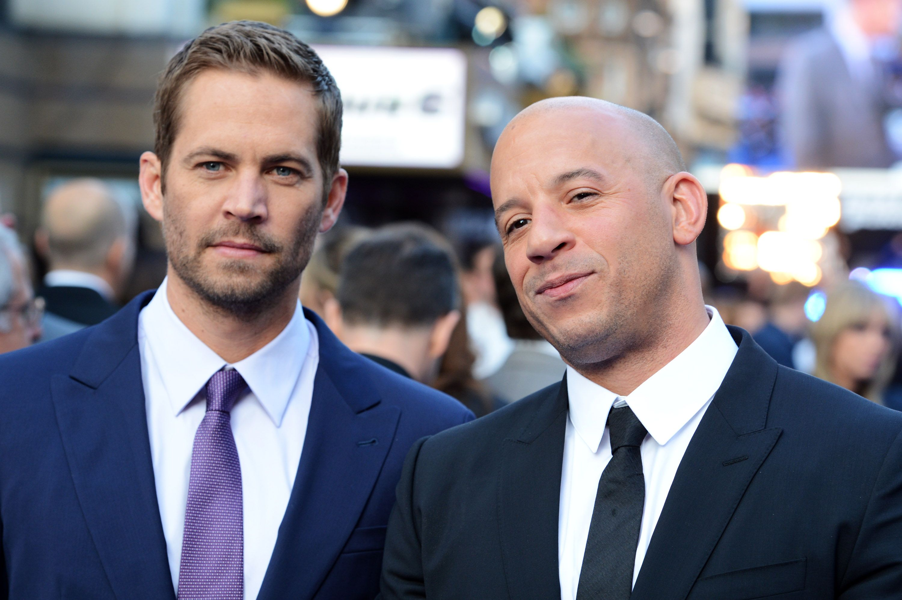 Paul Walker and Vin Diesel at the world premiere of 'Fast And Furious 6' at The Empire Leicester Square on May 7, 2013 | Photo: Getty Images