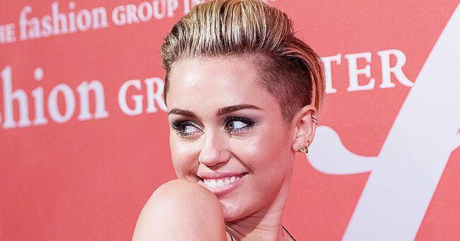 Miley Cyrus Puts Her Slender Body on Display in a Vintage Polka Dot Bikini