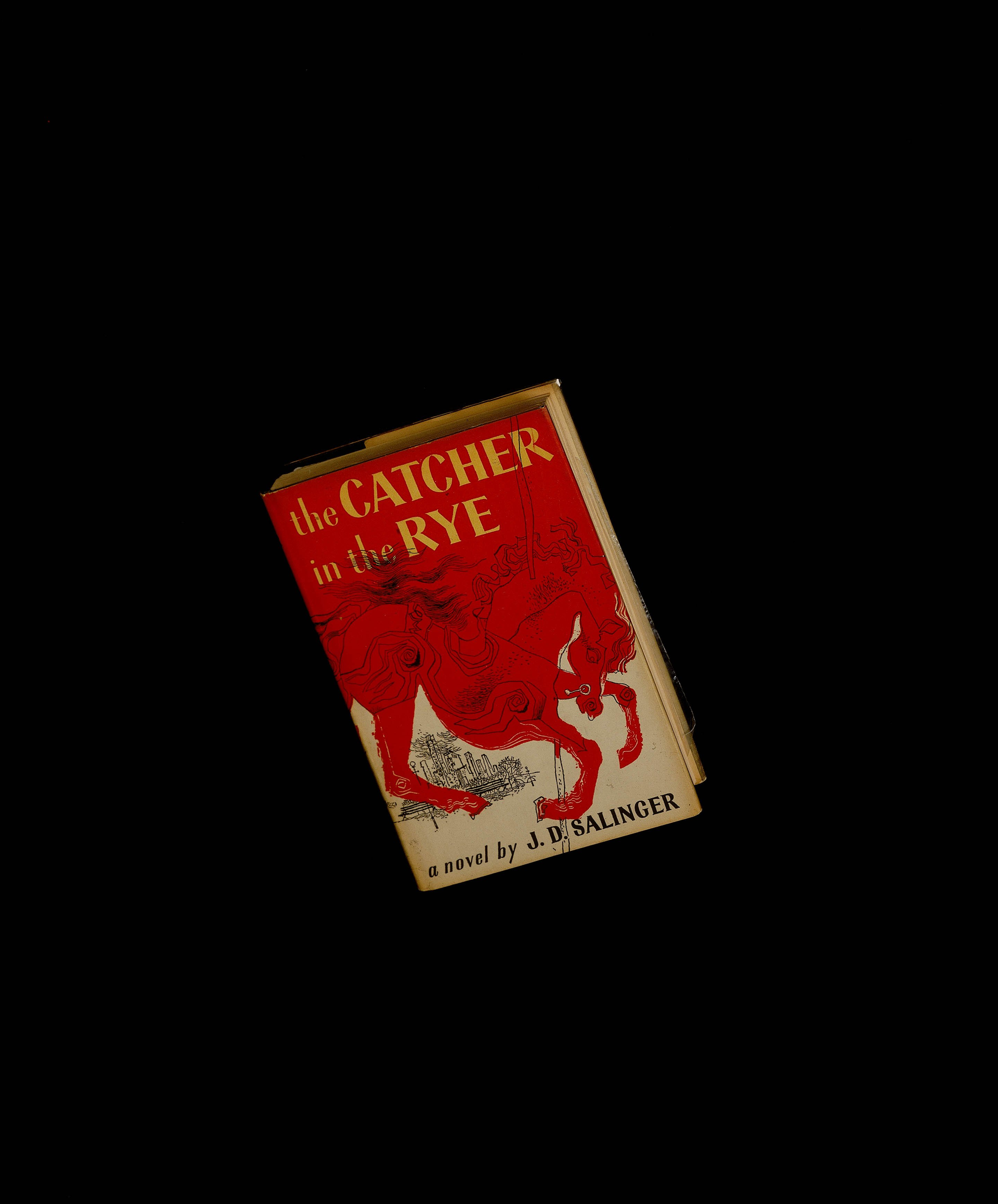 """Hardcover 1st edition of author J.D. Salinger's """"Catcher in the Rye"""" circa 1981.   Source: Getty Images"""