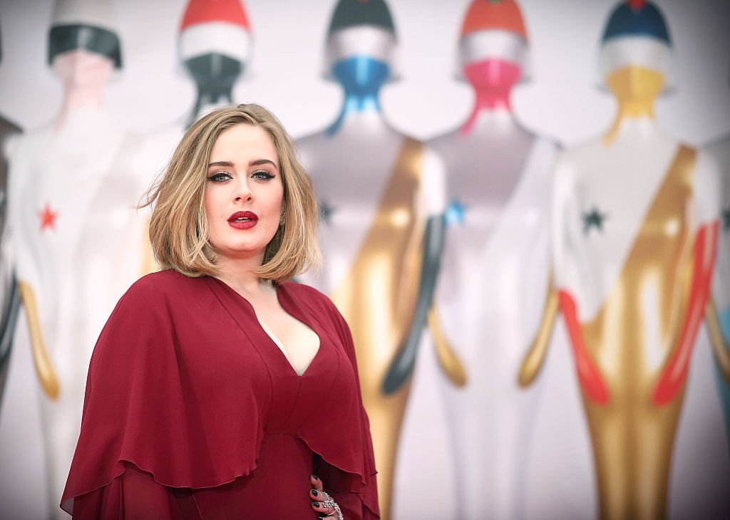 Adele attends the BRIT Awards 2016 at The O2 Arena on February 24, 2016 in London, England | Photo: Getty Images