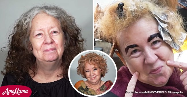 60-Year-Old Woman Doesn't Recognize Herself After an Impressive Makeover