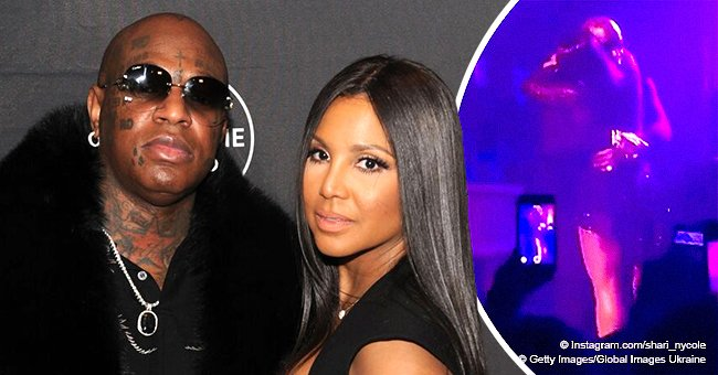 Toni Braxton gets surprise visit from Birdman while on stage during ' As Long As I Live' show