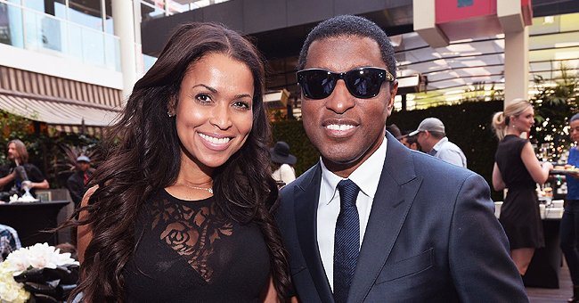 Babyface's Ex Tracey Edmonds Poses with Their Two Look-Alike Sons & Her Mom in Family FBF Photo
