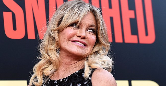 See How Goldie Hawn Made Washing the Dishes a Lot More Fun with Stepson Boston & Partner Kurt Russell