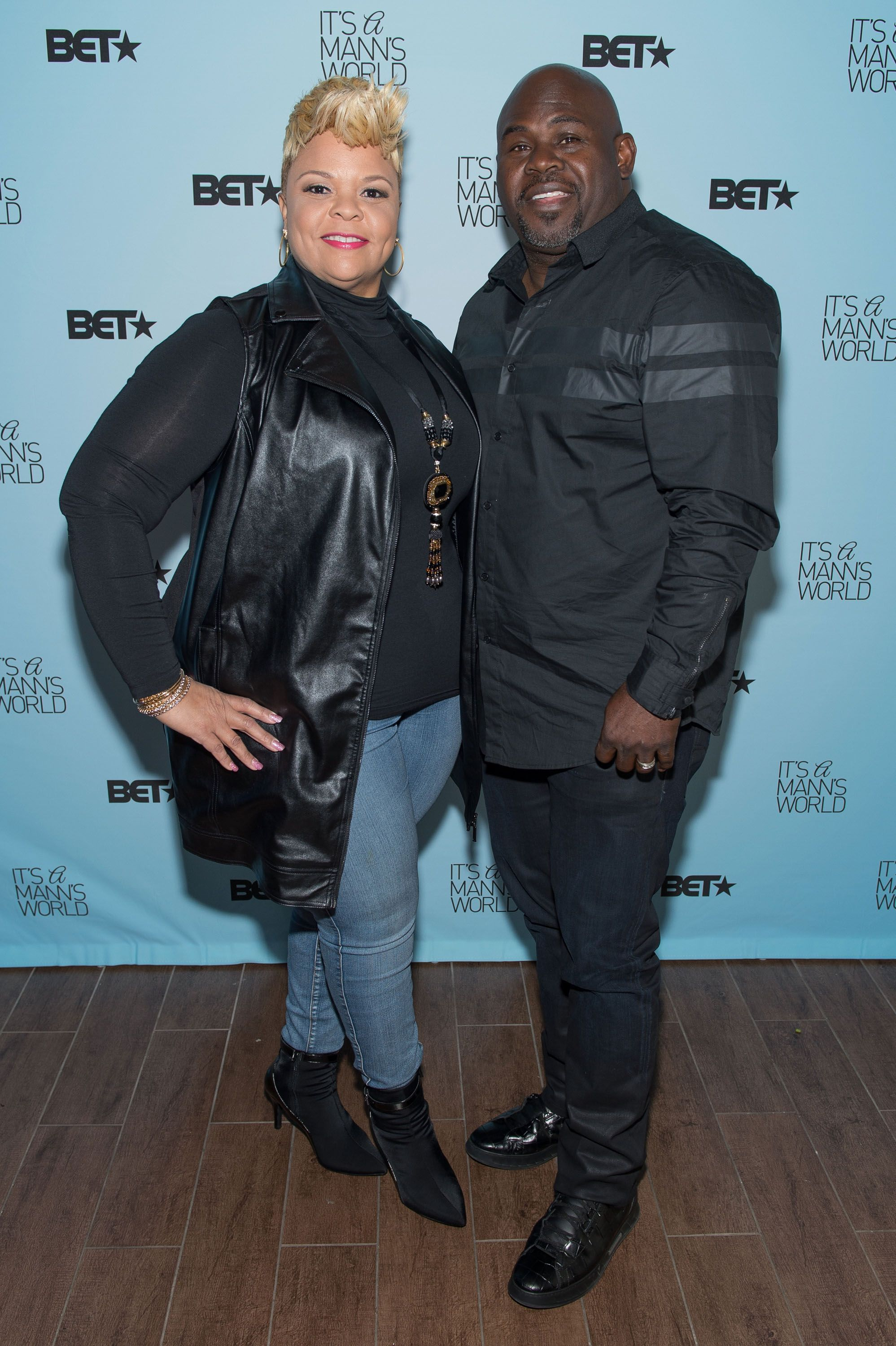 Tamela Mann and actor David Mann attend 'It's a Mann's World' season two luncheon screening at TRACE at the W on February 16, 2016 in Atlanta, Georgia | Photo: Getty Images