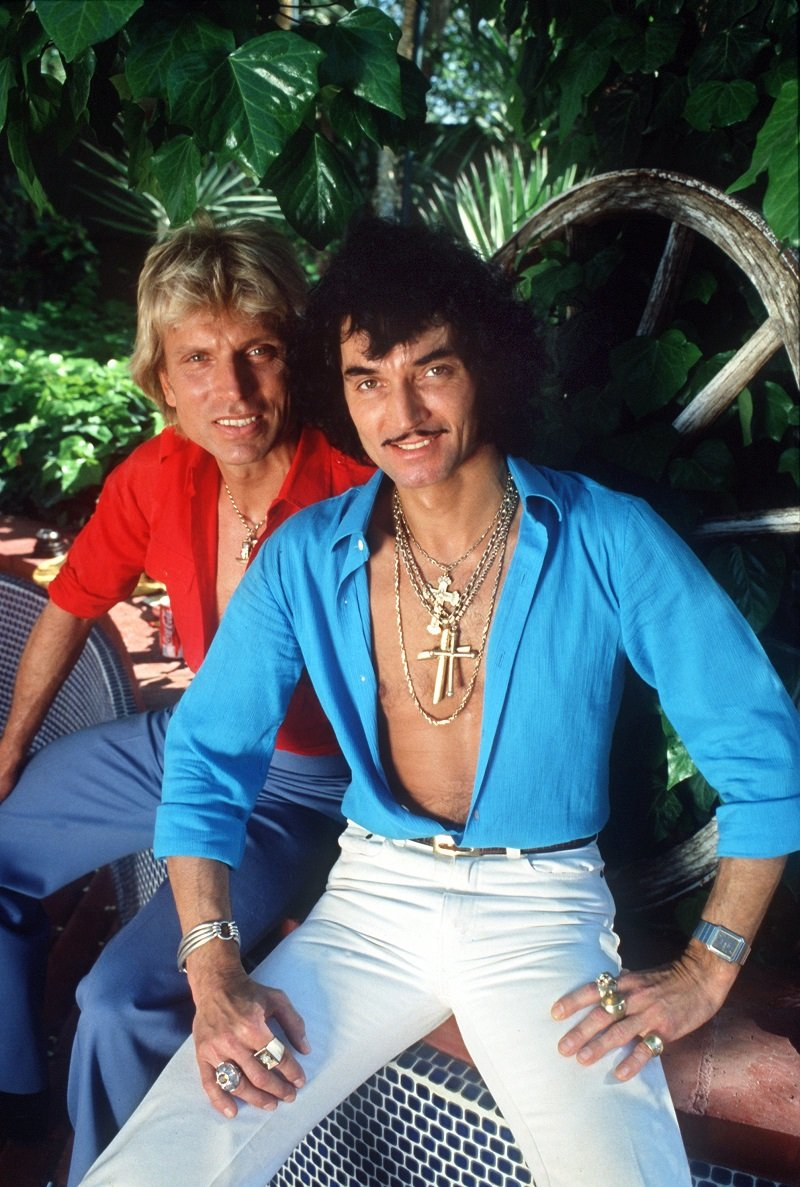 Siegfried Fischbacher and Roy Horn in the spring of 1981 in Las Vegas | Photo: Getty Images