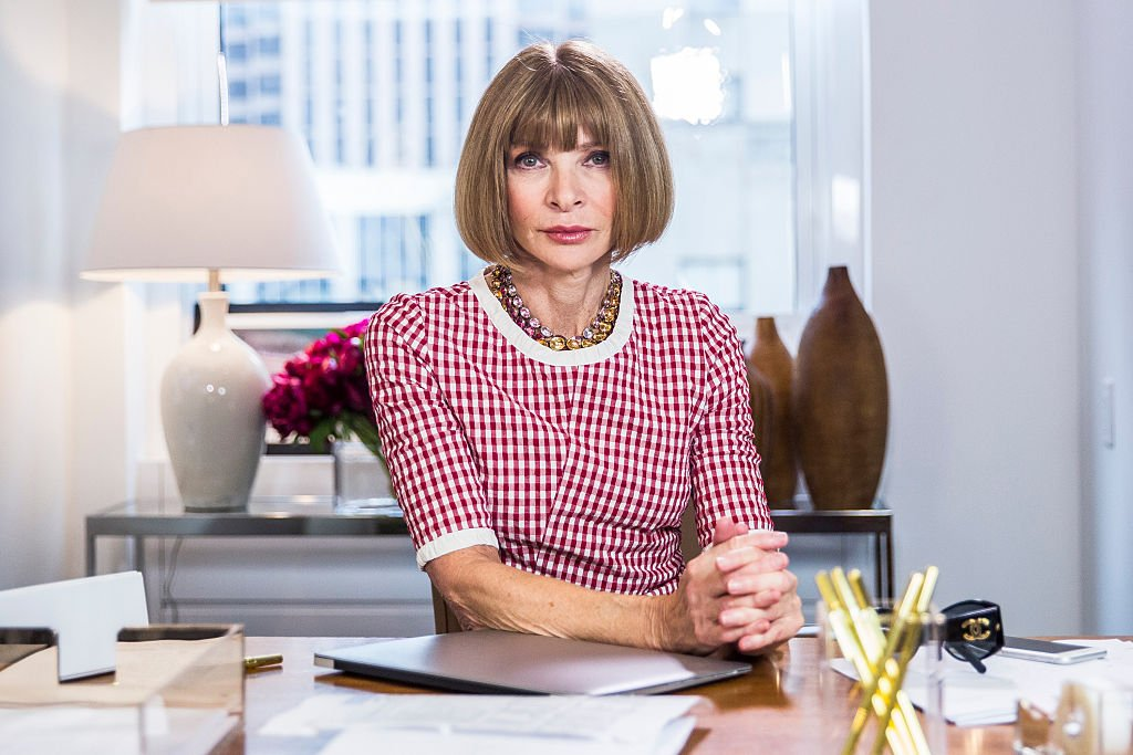 "Anna Wintour während des Sketches ""Anna Wintour: Comedy Icon"" 6. Mai 2015 - (Foto von: Lloyd Bishop / NBCU Photo Bank) I Quelle: NBCUniversal über Getty Images über Getty Images"