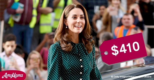 Kate Middleton flaunts emerald polka-dot dress on a Christmas visit to kids undergoing treatment