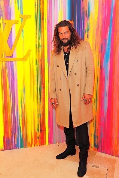 Jason Momoa at the reopening of Louis Vuitton New Bond Street Maison on October 23, 2019 | Photo: Getty Images