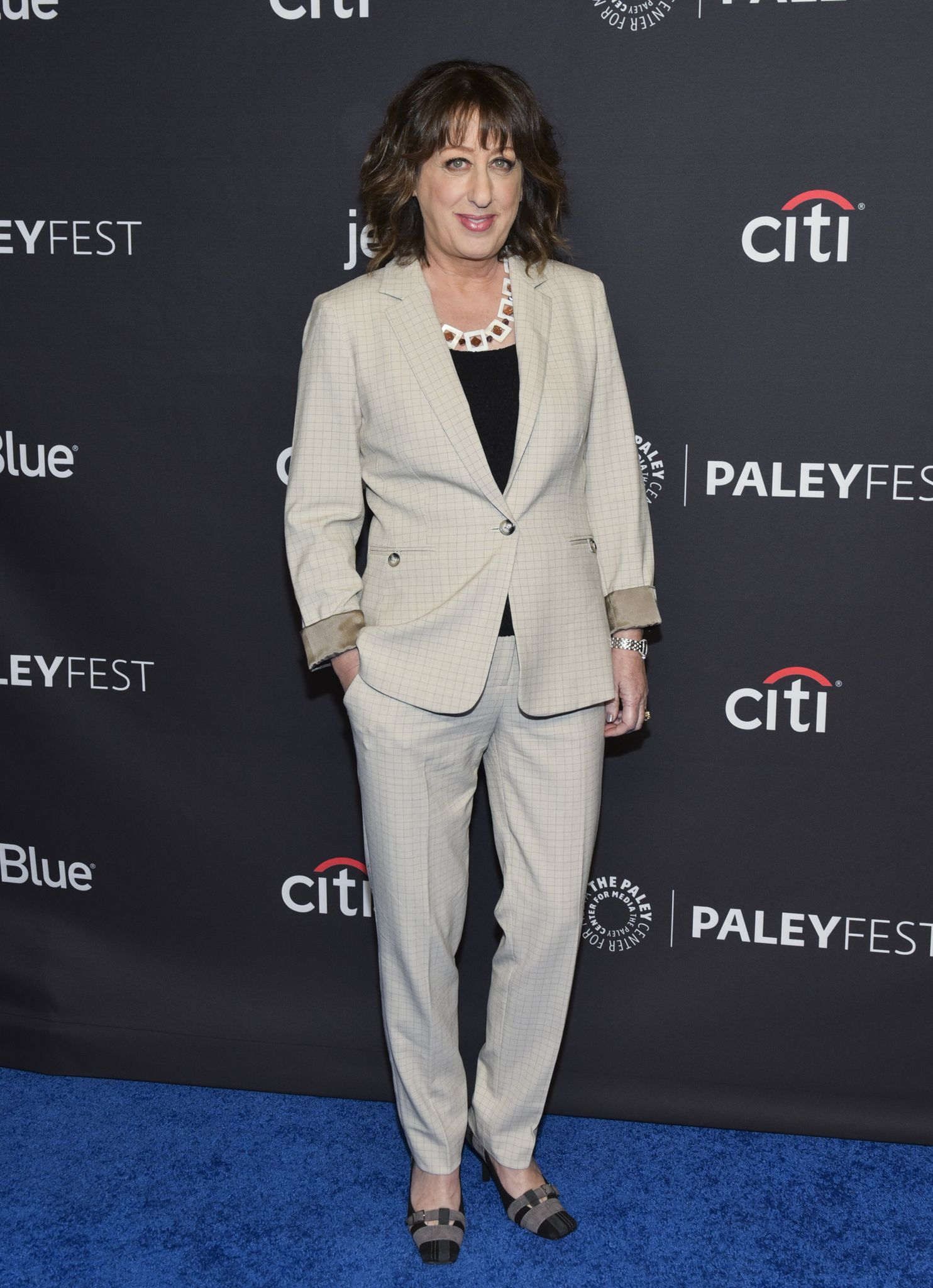 Beth Hall at the 2018 PaleyFest Los Angeles in 2018 in Hollywood, California | Source: Getty Images
