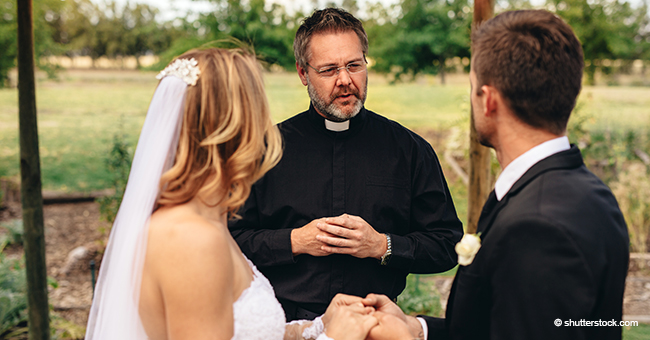 Groom Approaches Priest with an Unusual Offer during the Wedding Rehearsal