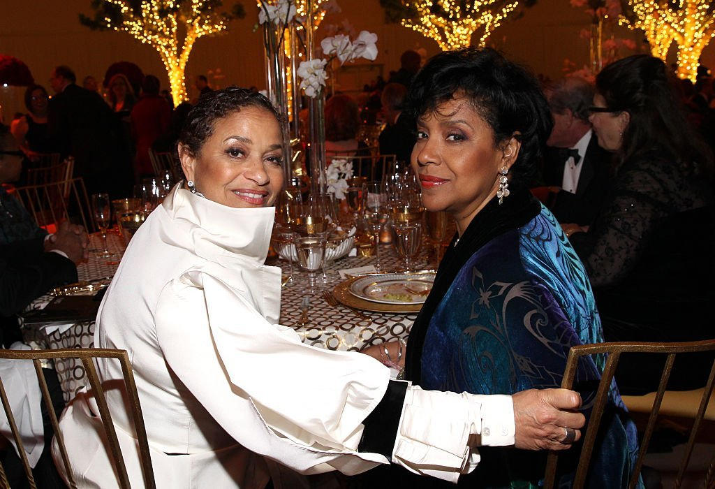 Debbie Allen & Phylicia Rashad at The Music Center's 50th Anniversary Spectacular on Dec. 6, 2014 in California | Photo: Getty Images