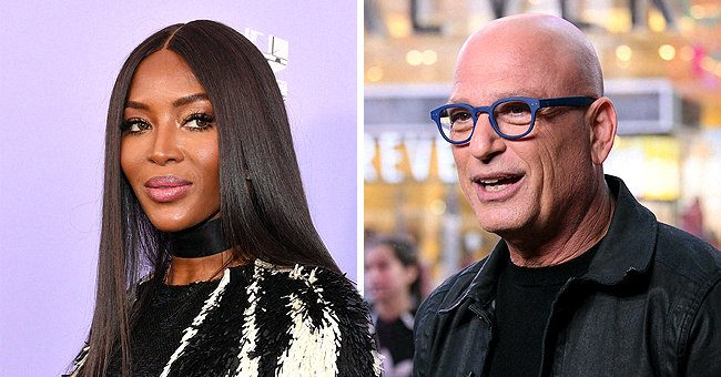 Howie Mandel Asks Fans to Weigh in on His and Naomi Campbell's Coronavirus Hazmat Suit