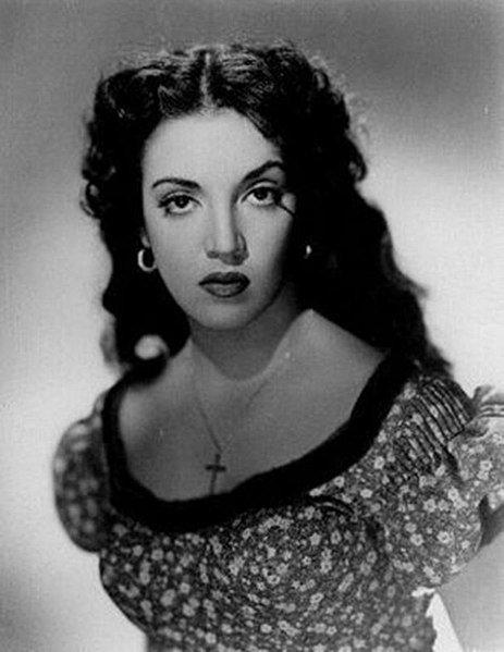 Katy Jurado en una fotografía promocional de la película San Antone, 1953. | Foto: Wikipedia.org