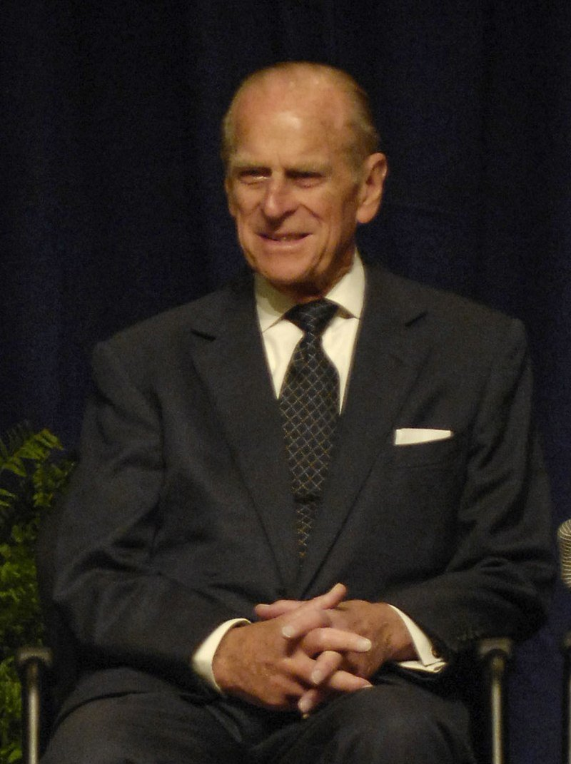 Prince Philip, Duke of Edinburgh, on his visit to the NASA Goddard Space Flight Center in Greenbelt, Maryland, US. | Source: Wikimedia Commons