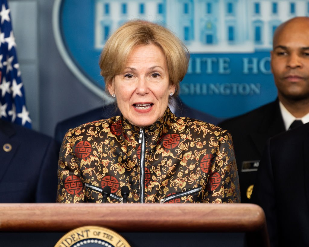 Dr. Deborah Birx, Ambassador-at-Large and United States Global AIDS Coordinator speaks at the Coronavirus Task Force Press Conference | Photo: Getty Images