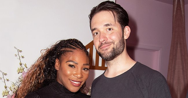 Serena Williams & Alexis Ohanian's Daughter Olympia Enjoys Painting on a Canvas in a Cute Video