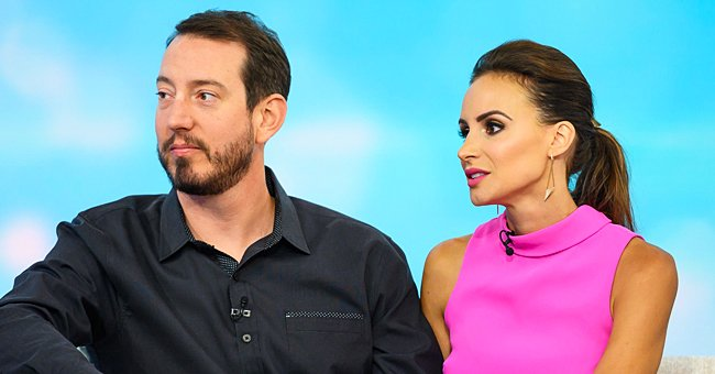 NASCAR's Kyle Busch Scoops up His Wife Samantha as They Enjoy Love in the Desert