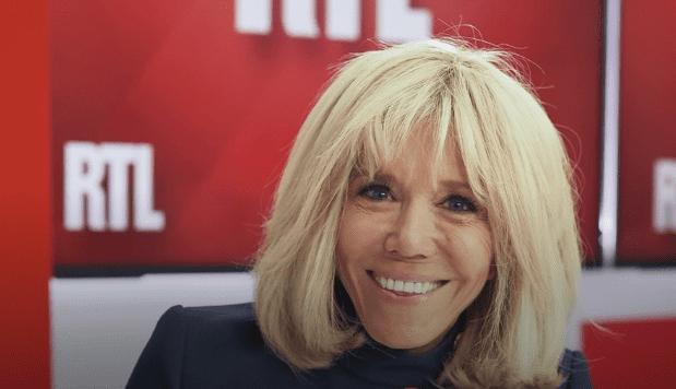 Brigitte Macron était l'invitée de Marc-Olivier Fogiel sur RTL.   Capture d'écran de RTL