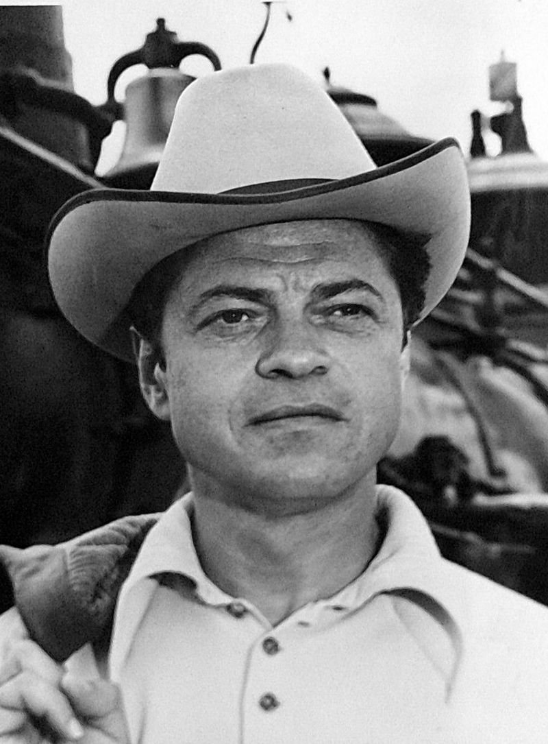 """Ross Martin as Artemus Gordon from the television program """"The Wild, Wild West,"""" circa 1960s. 