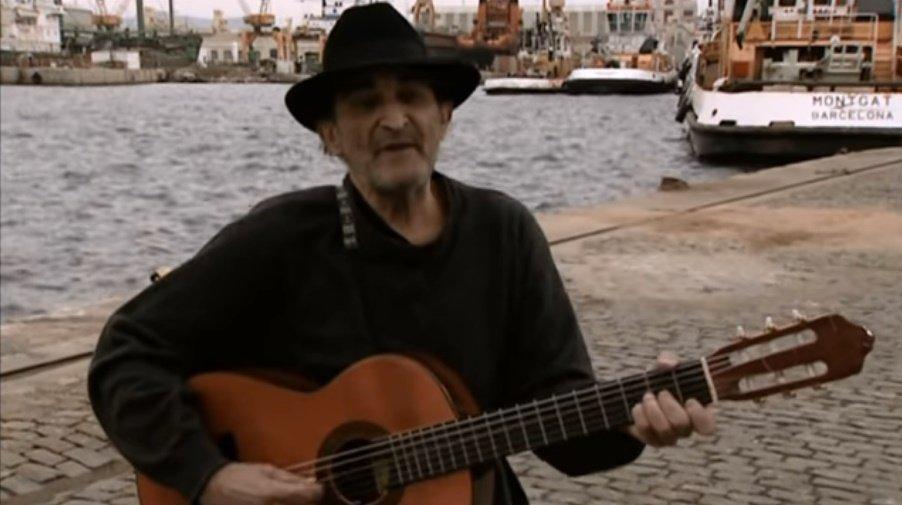 El cantante español que protestaba contra Franco.   Foto: YouTube/Archivio Libertario