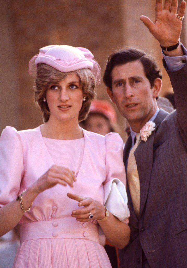 Princess Diana and Prince Charles visit Maitland, Australia.   Source: Getty Images