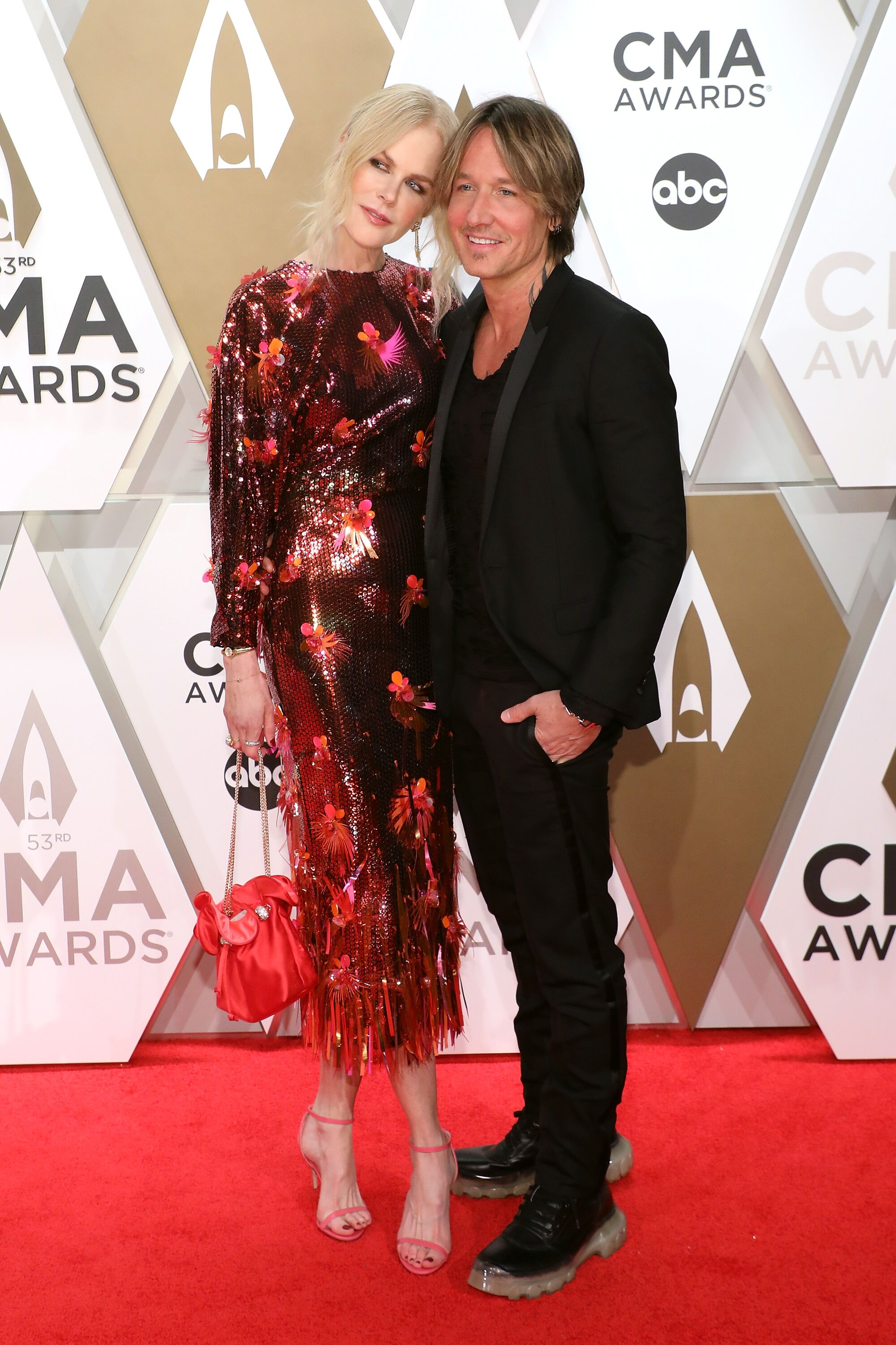 Nicole Kidman and Keith Urban at the 53rd annual CMA Awards at Bridgestone Arena on November 13, 2019, in Nashville, Tennessee | Photo: Getty Images