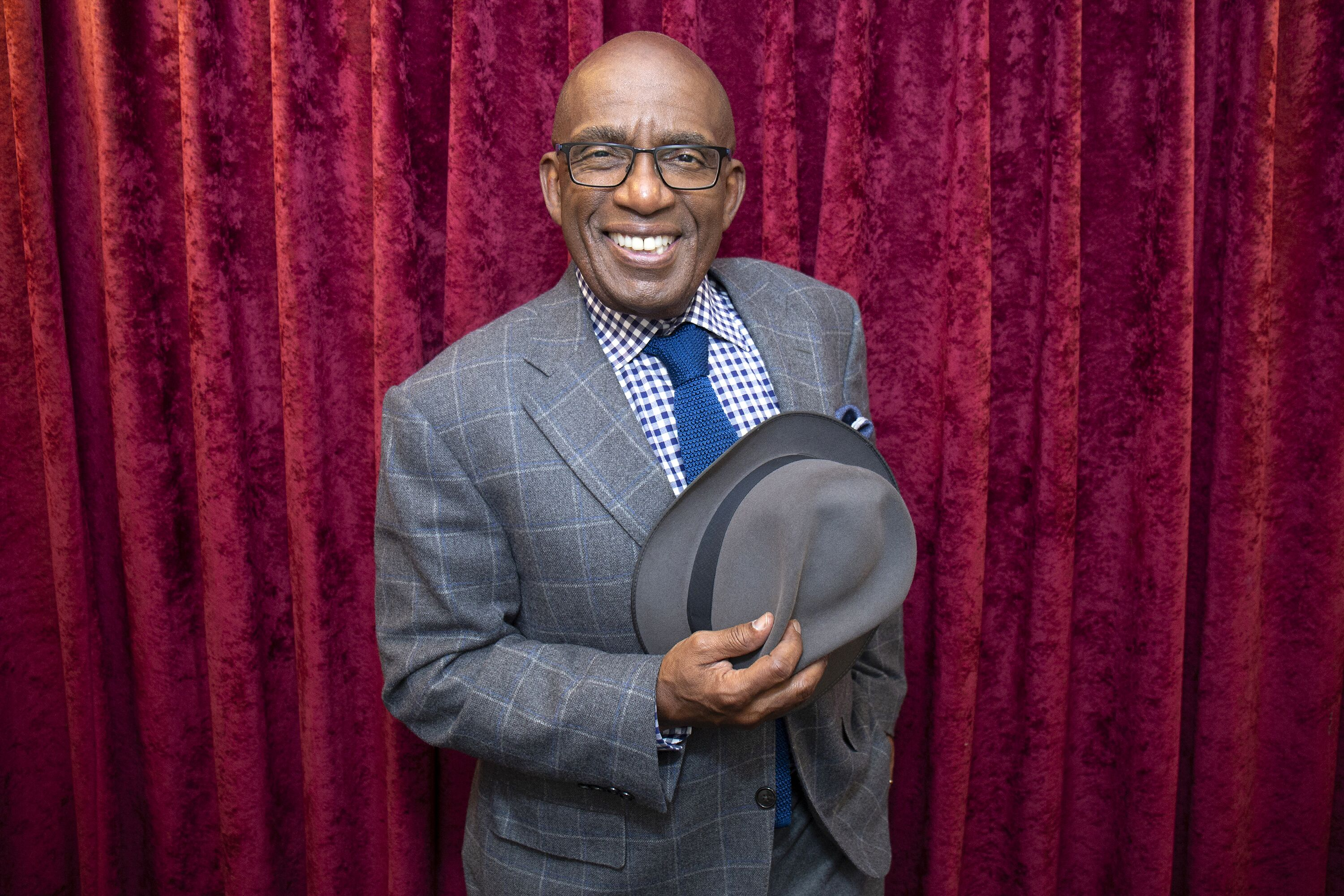 Al Roker visits SiriusXM Studios on October 2, 2018 in New York City. | Source: Getty Images