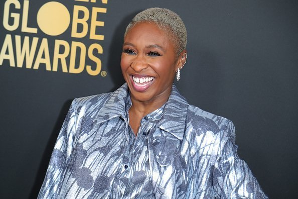Cynthia Erivo at HFPA And THR Golden Globe Ambassador Party in West Hollywood, California.| Photo: Getty Images.