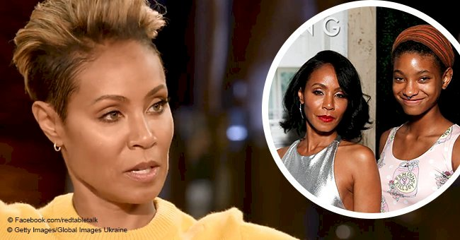 Jada Pinkett Smith defends including 18-year-old daughter Willow in domestic violence talk