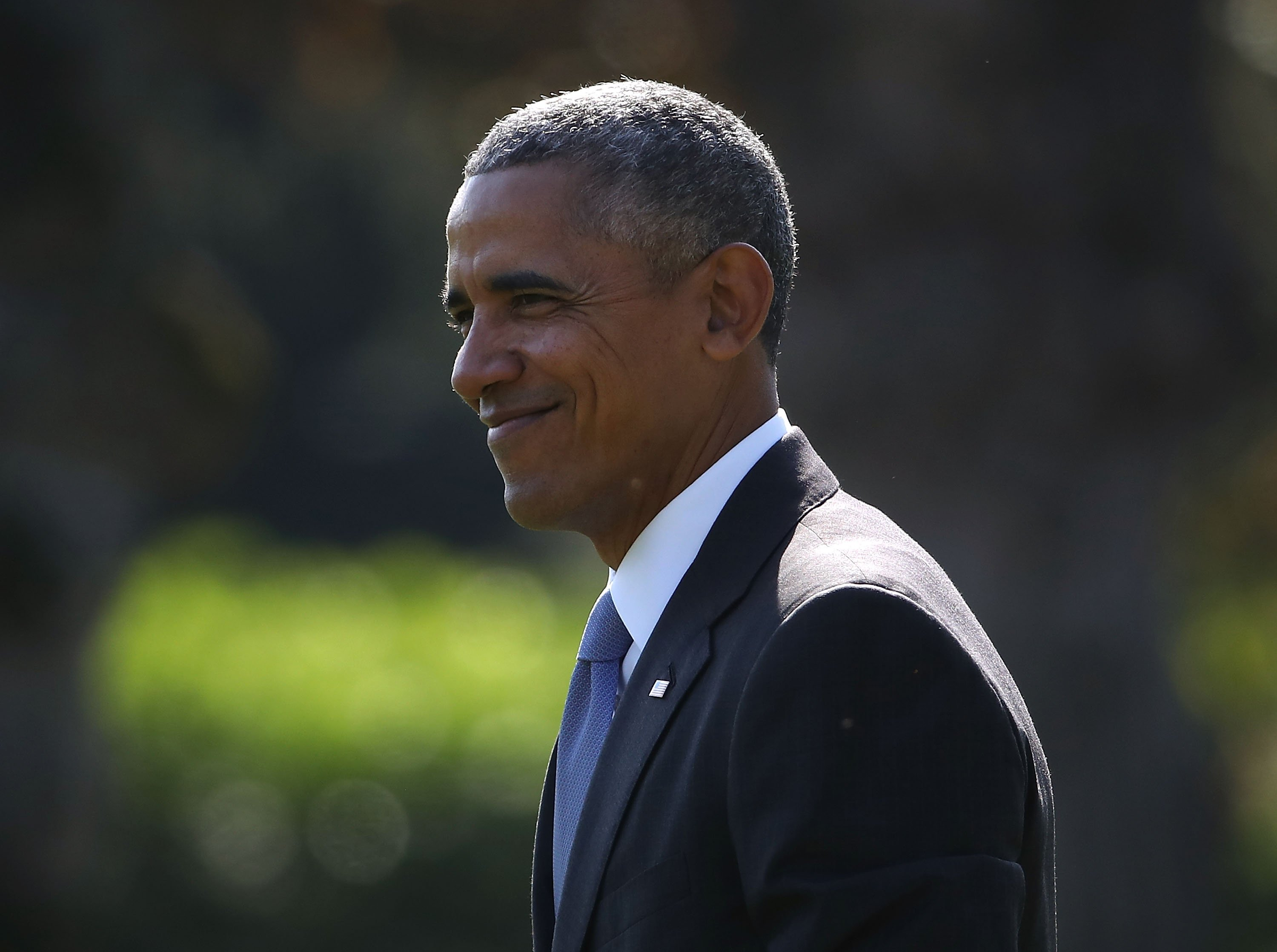 The 44th President of the United States Barack Obama outside the White House in Washington D.C. | Photo: Getty Images