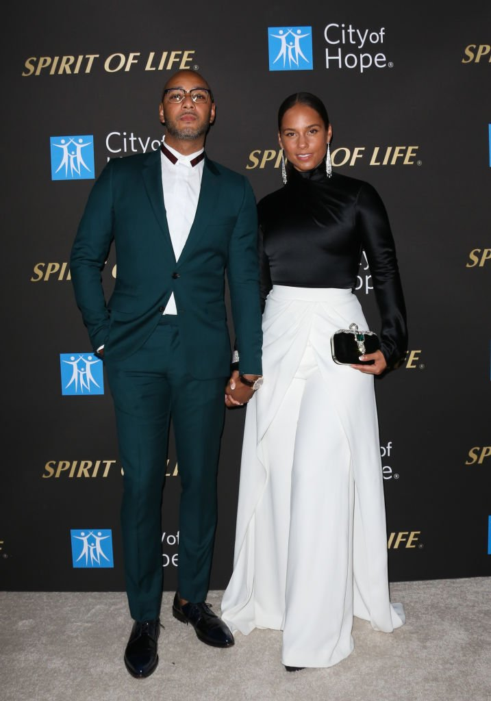 Swizz Beatz and Alicia Keys attend the City Of Hope's Spirit Of Life 2019 Gala| Photo: Getty Images