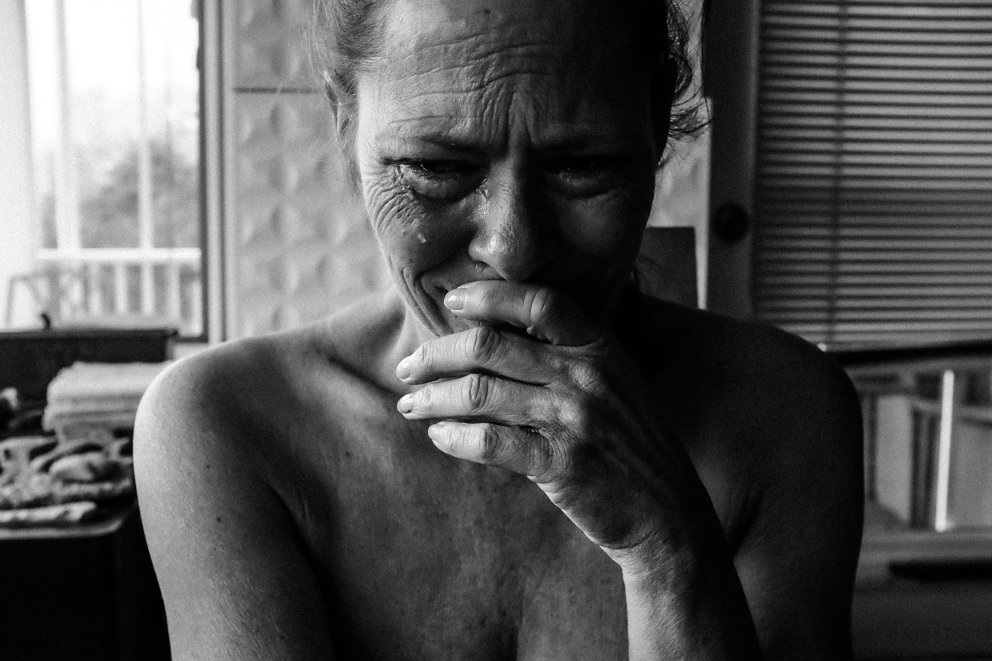 Alte Frau weint | Quelle: Pexels