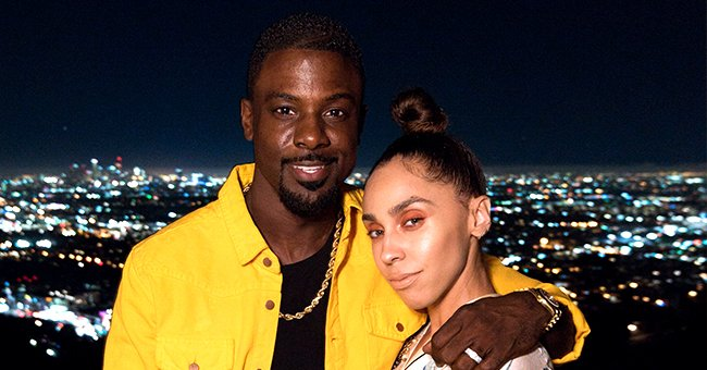 Lance Gross from 'House of Payne' Shares Pic with Wife Rebecca Who Stuns in Backless Dress & Bejeweled Headpiece