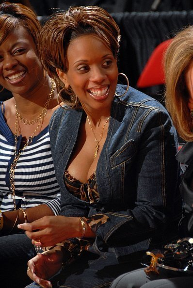 Siohvaughn Wade, the wife of NBA player Dwyane Wade at NBA All-Star Weekend on February 17, 2007 | Photo: Getty Images