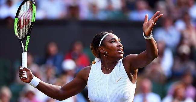 Serena Williams Plays Tennis Indoors Amid Quarantine
