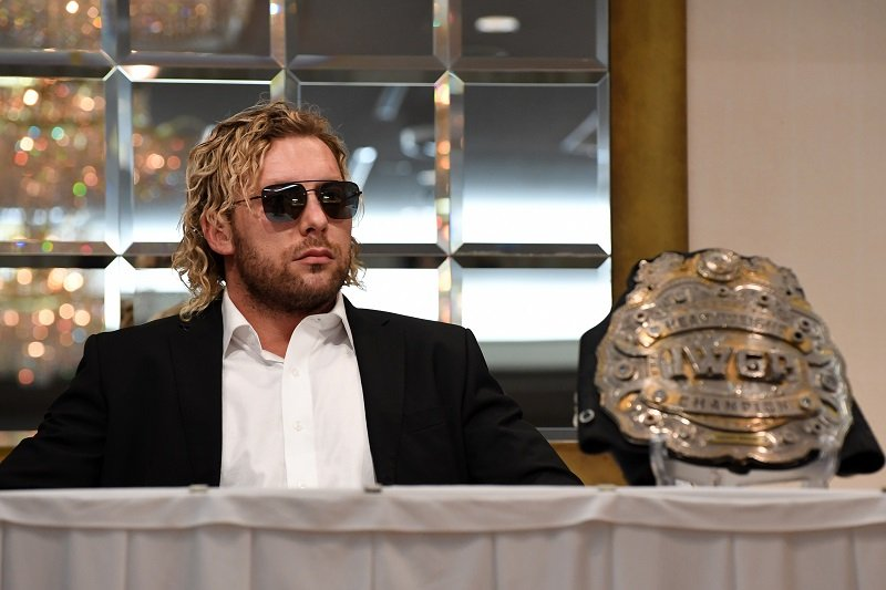 Kenny Omega on October 9, 2018 in Tokyo, Japan   Photo: Getty Images
