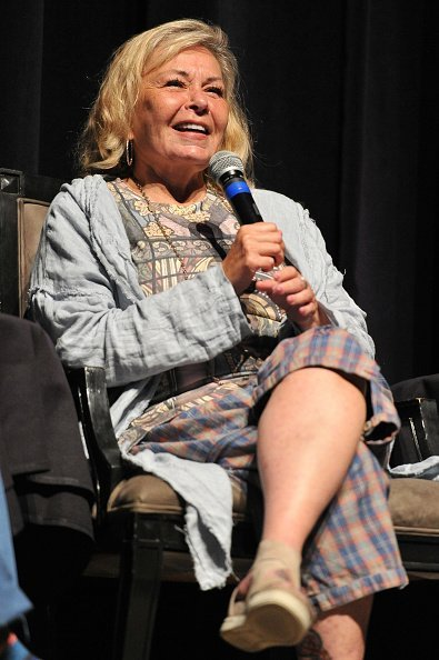 Roseanne Barr participates in 'Is America a Forgiving Nation?,'' at Saban Theatre on September 17, 2018, in Beverly Hills, California. | Source: Getty Images.