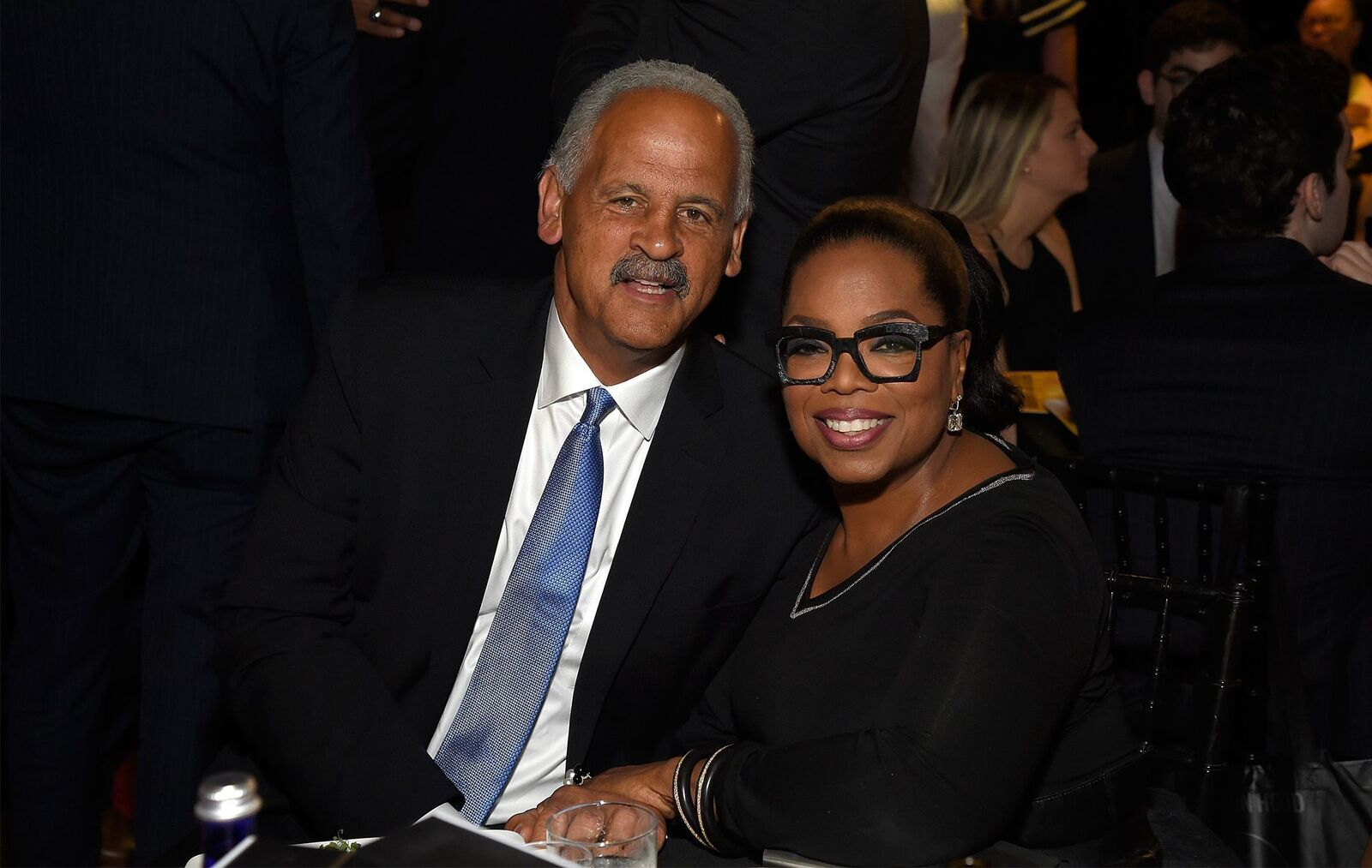 Stedman Graham and Oprah Winfrey at The Robin Hood Foundation's benefit on May 14, 2018, in New York City | Photo: Getty Images