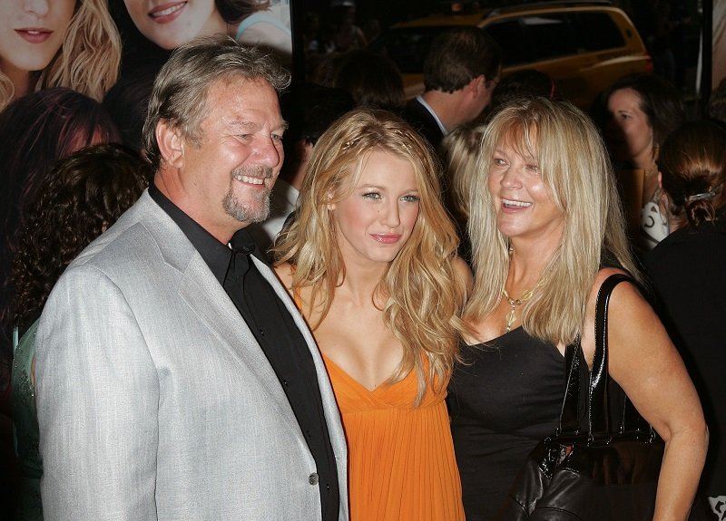 Ernie Lively, Blake Lively and Elaine Lively on July 28, 2008 in New York City | Photo: Getty Images