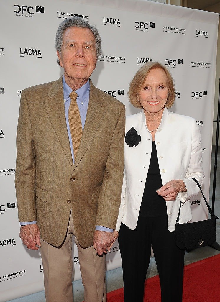 """Actress Eva Marie Saint and husband Jeffrey Hayden attend """"A Tribute to Norman Jewison"""" presented by CFC and Film Independent at LACMA on April 17, 2009. 