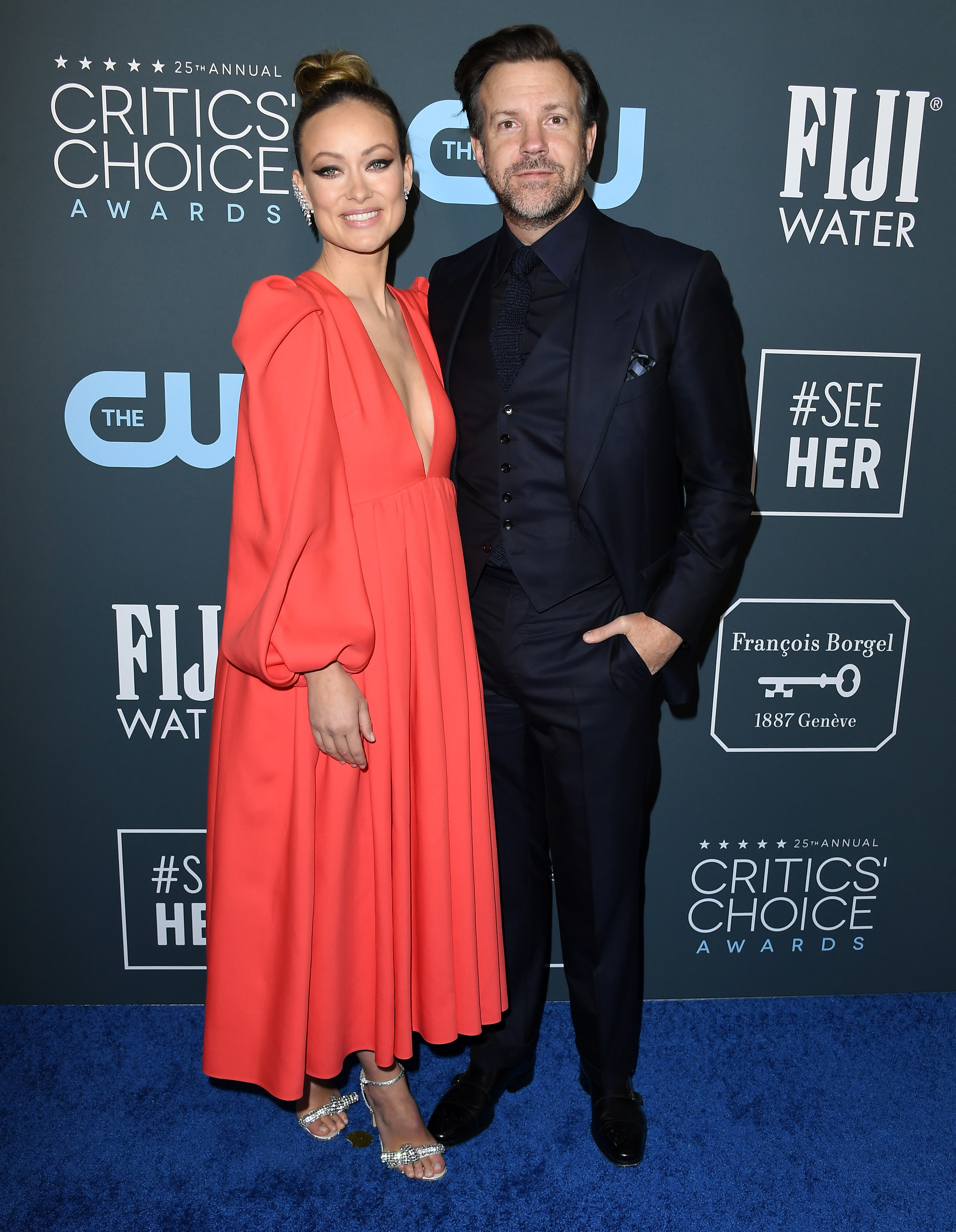 Olivia Wilde and Jason Sudeikis during happier times. The couple called off their engagement in September, 2020. | Photo: Getty Images.