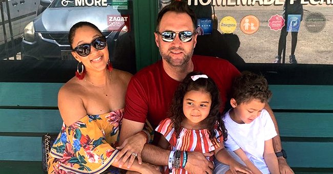 Tamera Mowry's Husband Adam Housley Shared Precious Photo of Their Kids Aden and Ariah Flashing Sweet Smiles