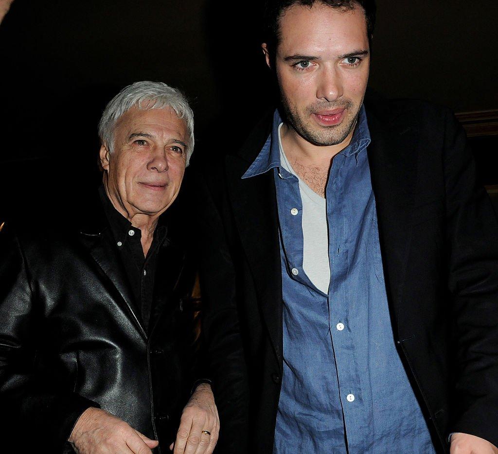 Guy et Nicolas Bedos le 5 février 2010. l Source : Getty Images